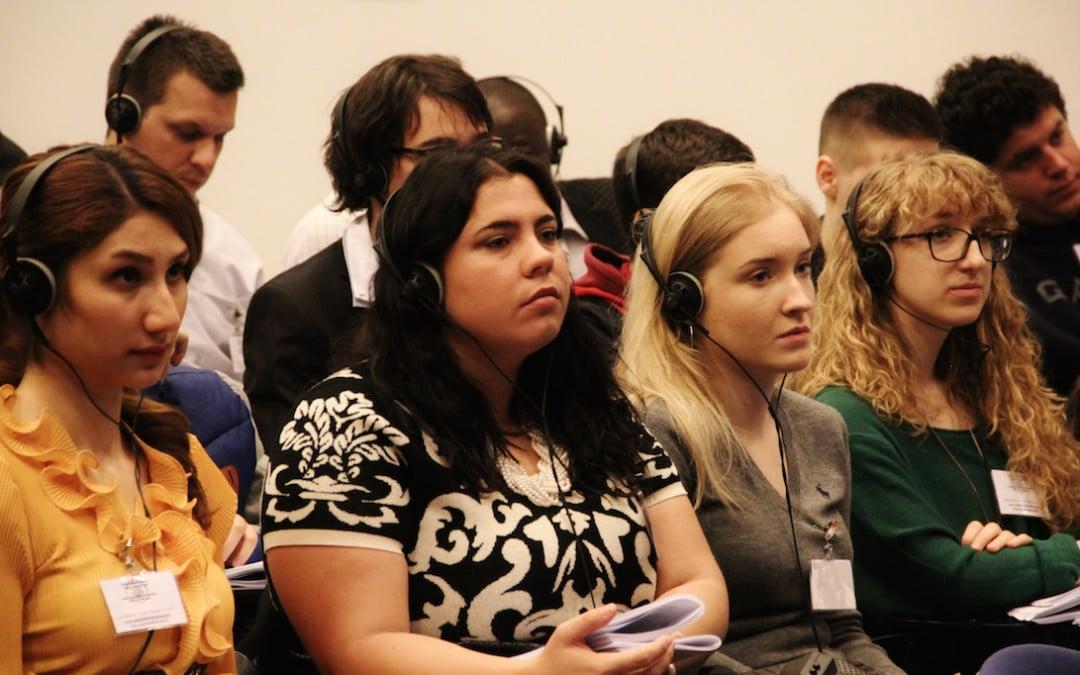 Forum Mondiale dei Giovani Diritto di Dialogo 2016: 30 settembre-2 ottobre