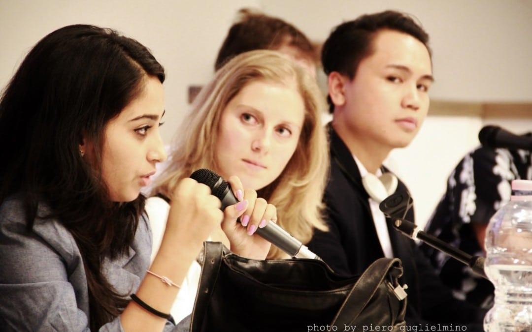 Forum Mondiale dei Giovani Diritto di Dialogo: 30 settembre – 3 ottobre 2016